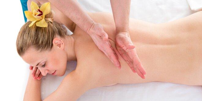 Doprajte si niektorú z blahodarných masáží