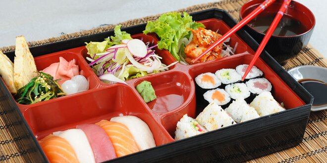 Sushi sety v skvelej reštaurácii Max Plaza