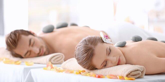 Relaxačná masáž alebo relaxačná masáž s lávovými kameňmi