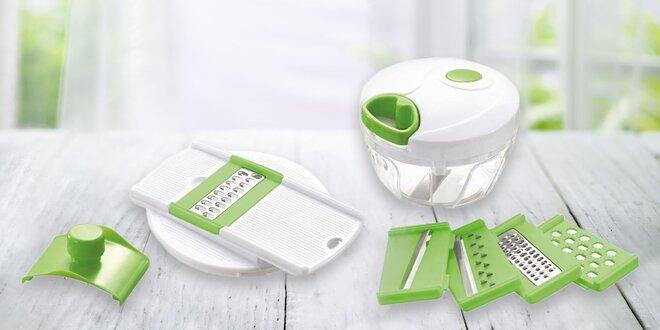 Chop-It mini krájač so 6 nástavacami