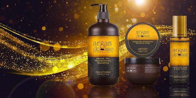 Sérum, šampón alebo maska na vlasy Argan de Luxe