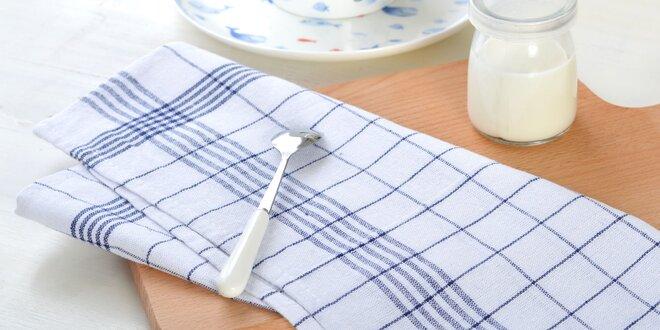 Kuchynské utierky zo 100 % bavlny - 4 alebo 8 ks