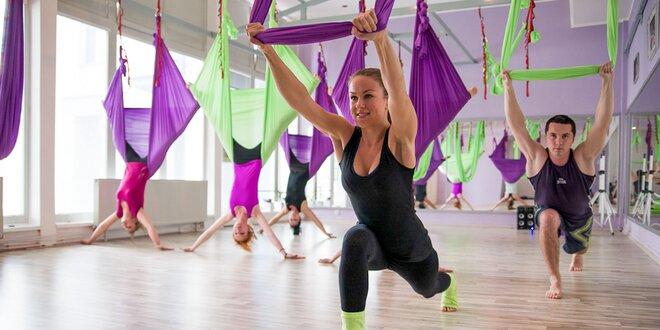 Cvičenie Fly Fit a Fly Joga alebo chudnutie