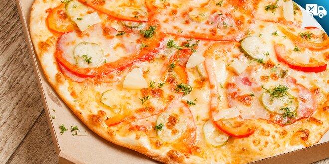 2× alebo 3× Pizza Euro na donášku - Vyskladaj si sám!