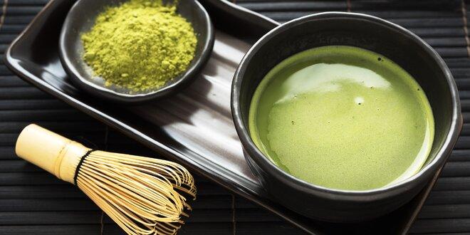 Tradičný samurajský nápoj: Matcha zelený čaj