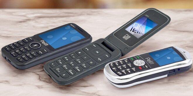 Hipsterský telefón, ktorý sa na nič nehrá. Tlačidlový Pelitt.