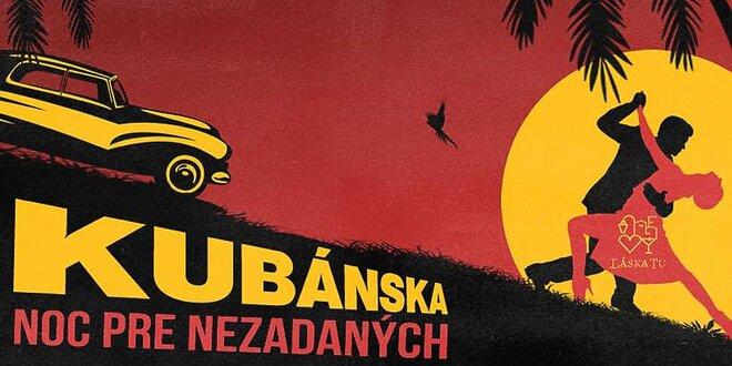 Kubánska noc pre všetky single duše priamo na Dunaji