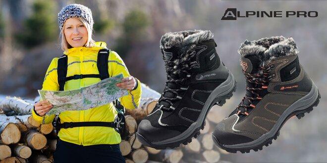 Dámska zimná obuv Alpine Pro