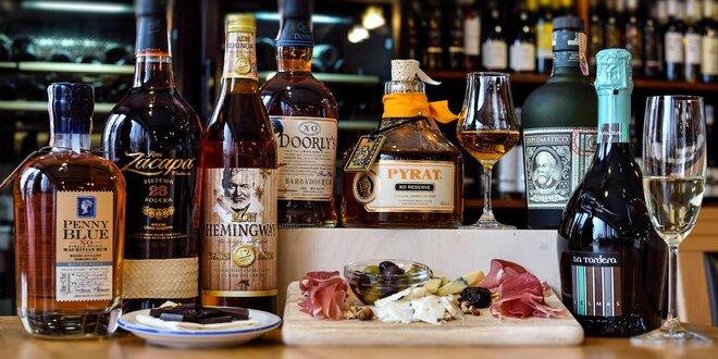 Profesionálna ochutnávka rumov so someliérom