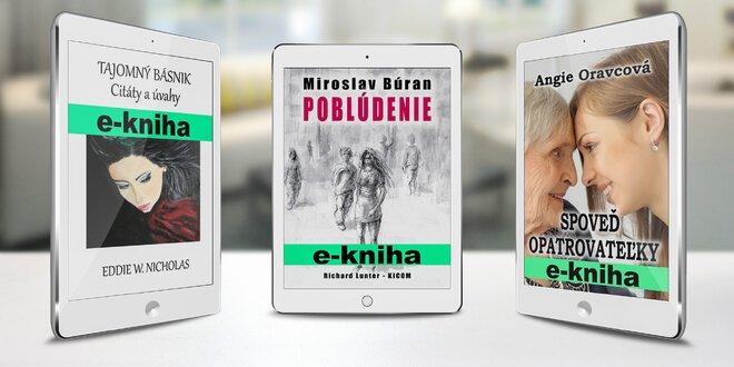 E-knihy kdekoľvek a kedykoľvek