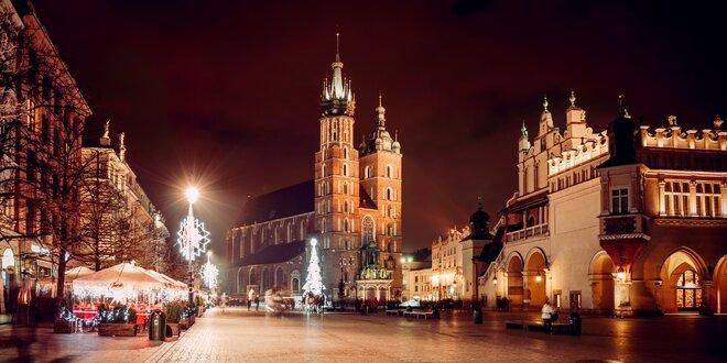 Vianočné trhy i história v Krakove a Zakopanom