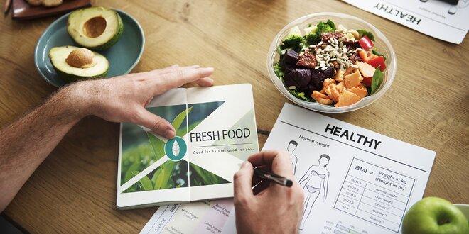 Analýza týždenného výživového záznamu a analýza zloženia tela