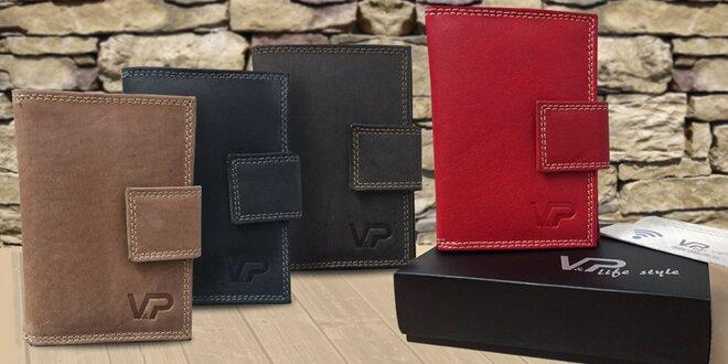 Dámske kožené peňaženky a obal na karty