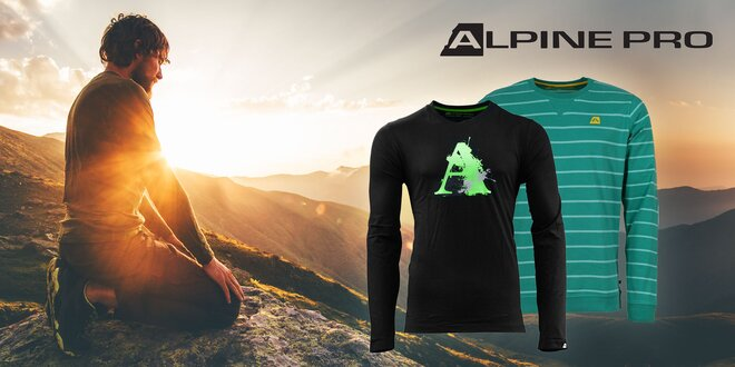 Pánske bavlnené tričko Alpine Pro