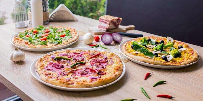 Pizza podľa vlastného výberu - až 25 druhov!