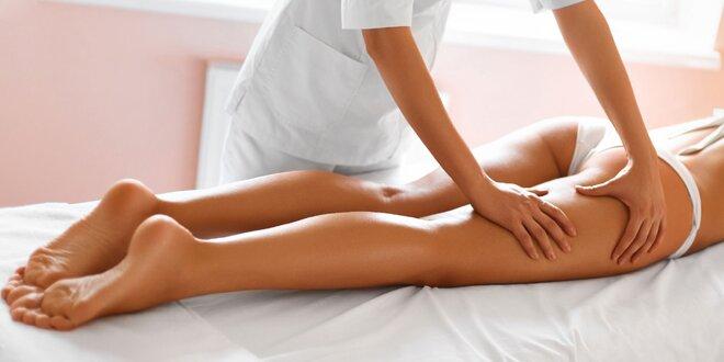 Vanilková lymfodrenážna anticelulitídna masáž