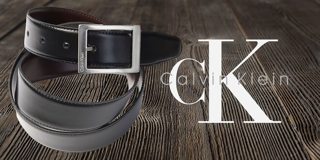 ea61372c53d0 Pánske luxusné kožené opasky Calvin Klein