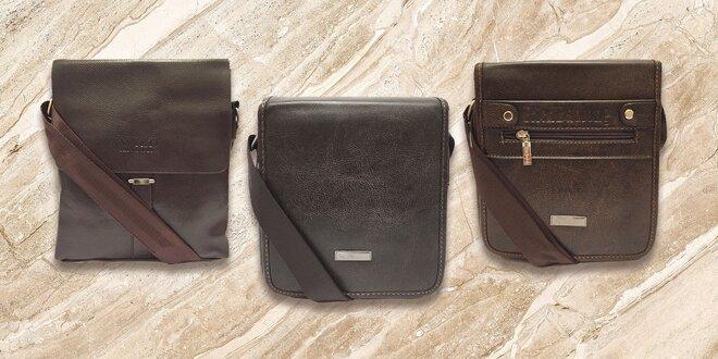 Elegantné pánske tašky z eko kože