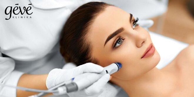Kompletné ošetrenie tváre vrátane aplikácie peptidov