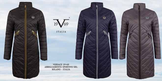 Dámske prešívané dlhé kabáty značky Versace 19.69