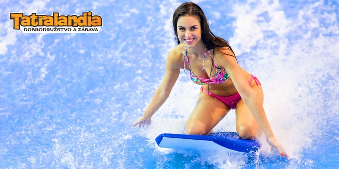 Surf Waves Tatralandia! Adrenalín na vlnách aj v zime!