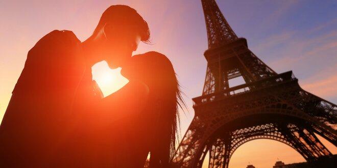 Paríž na Valentína s ubytovaním, raňajkami a šampanským