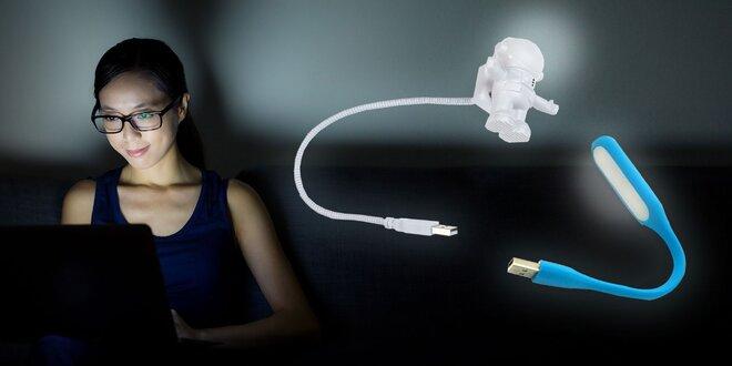 Štýlová prenosná USB lampa do počítača