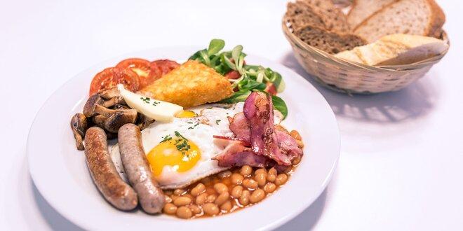 Pravé anglické raňajky - najlepší štart vášho dňa!