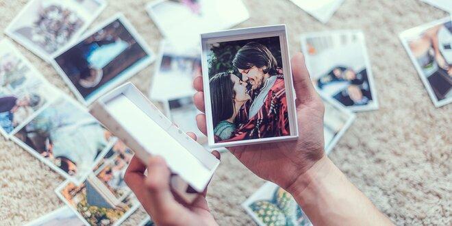 Vyvolanie 50 fotografií s krabičkou zadarmo