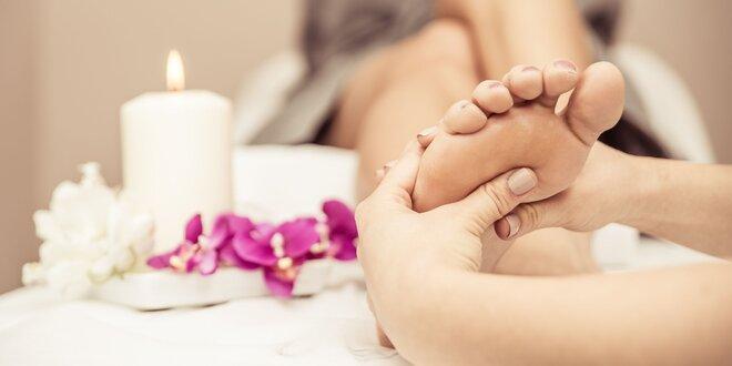 Wellness perličková pedikúra