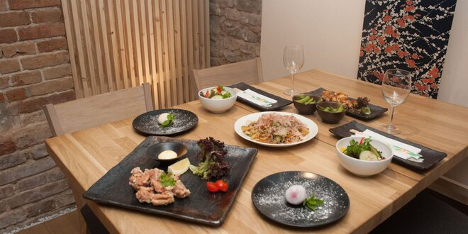Darčeková poukážka do japonskej reštaurácie