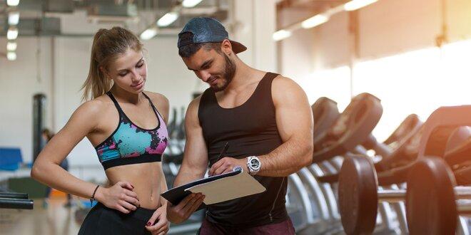 Jedálny a tréningový plán či permanentka do fitka