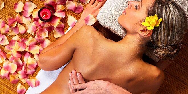 Kráľovská procedúra a ozdravná masáž chrbta