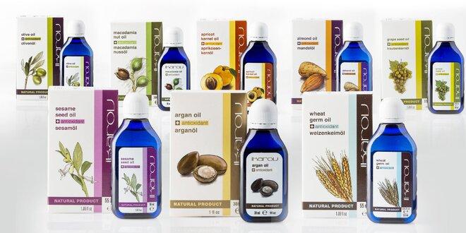 Prírodné telové oleje