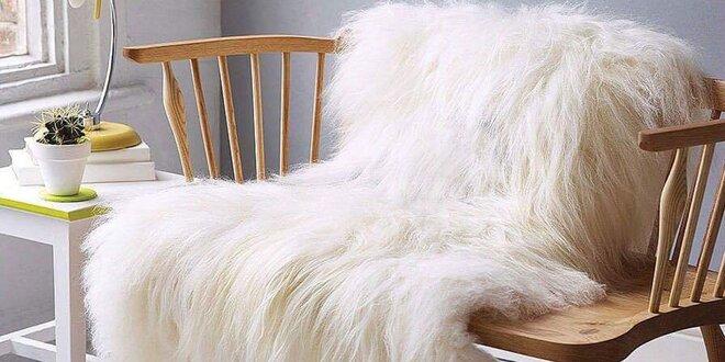 Mäkkučké ovčie rúno alebo sobia kožušina