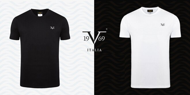 Balenie 3 bavlnených tričiek 19V69 Italia