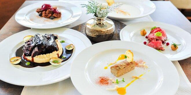 Exkluzívne 5-chodové menu od executive chefa Ladislava Botoša