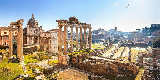4 NAJ z Talianska - Rím, Florencia, Verona a Benátky
