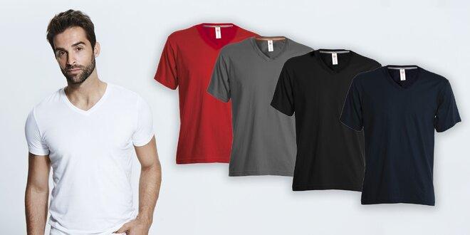 Pánske tričko: rôzne veľkosti a farby
