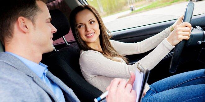 Kondičné jazdy, kurz parkovania a vodičský kurz