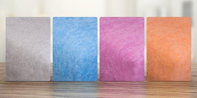 Napínacie froté plachty - 22 farieb na výber!