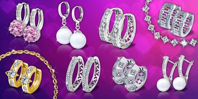 Nádherné šperky Brillance s leskom skutočných briliantov