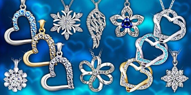 Veľký výber šperkov s kryštálmi Swarovski a zirkónmi
