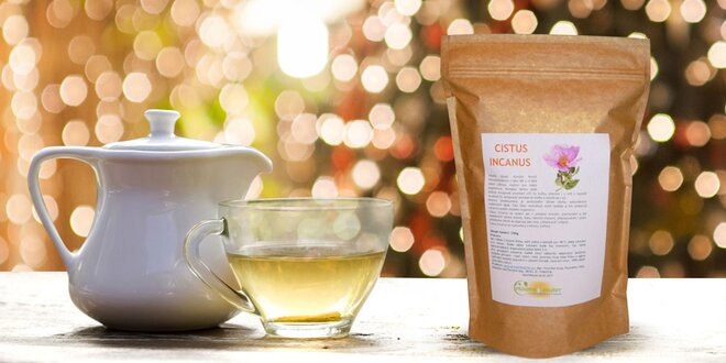 Bylinný čaj Cistus Incanus - Ruža skalná