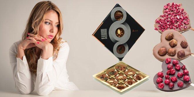 Láska prichádza s čokoládou! Sladké darčeky pre zamilovaných!