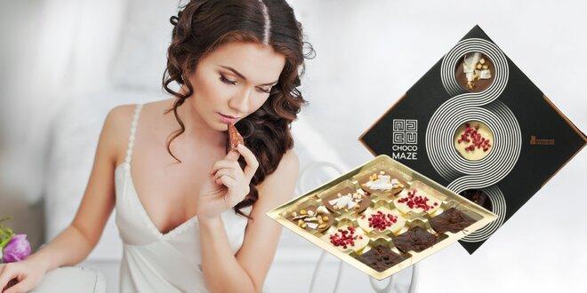 Exkluzívny čokoládový dezert z čokoládovne CHOCOMAZE