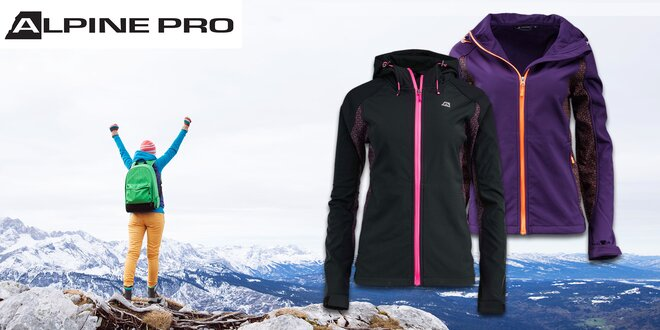 Dámska softshellová bunda Alpine Pro CLAUDA