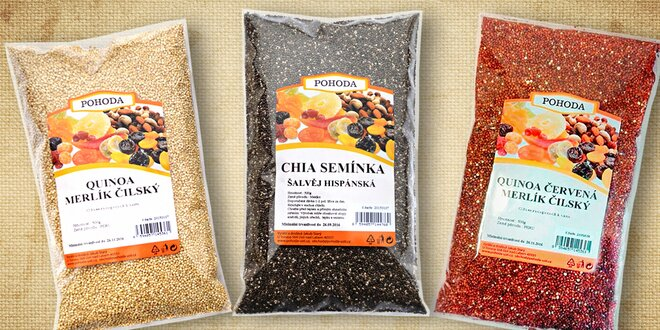 Quinoa - superpotravina budúcnosti a balíky plné zdravia