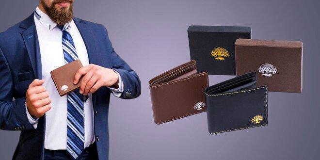Pánska peňaženka s ochranou osobných údajov