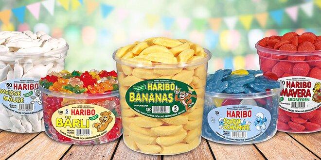 Ovocné želé Haribo: 32 druhov obľúbených maškŕt